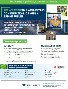 Heavy construction traoning