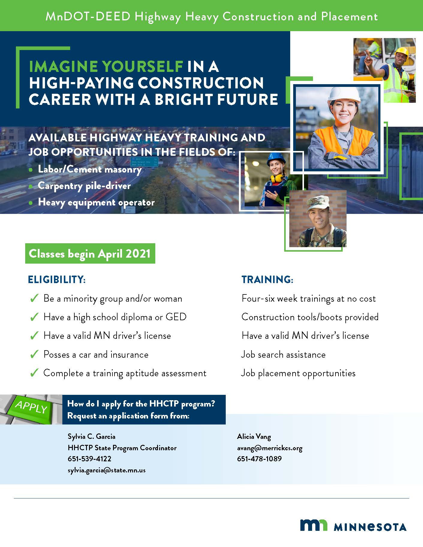 MnDOT-DEED Highway Heavy Construction and Placement